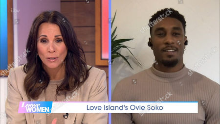 Stock Image of Andrea McLean, Ovie Soko