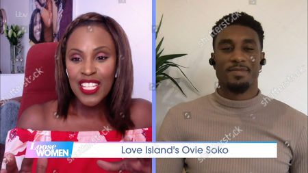 Stock Photo of Kelle Bryan, Ovie Soko