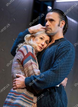 Editorial image of 'Betrayal' Play by Harold Pinter performed at he Theatre Royal,  Bath, UK - 20 Oct 2020