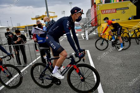 Editorial image of La Vuelta Cycling, Irun, Spain - 20 Oct 2020