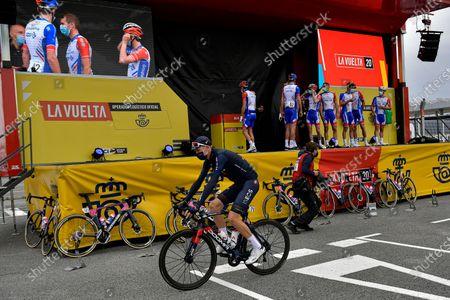 Editorial photo of La Vuelta Cycling, Irun, Spain - 20 Oct 2020
