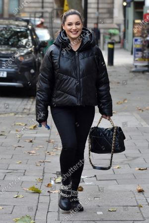 Editorial image of Kelly Brook out and about, London, UK - 20 Oct 2020