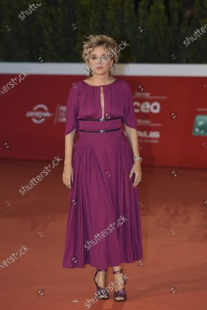 Editorial picture of 'Fortuna' red carpet, 15th Rome Film Festival, Italy - 19 Oct 2020