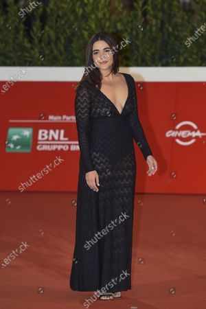 Editorial photo of 'Fortuna' red carpet, 15th Rome Film Festival, Italy - 19 Oct 2020