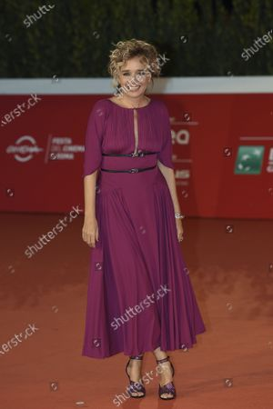 Editorial image of 'Fortuna' red carpet, 15th Rome Film Festival, Italy - 19 Oct 2020