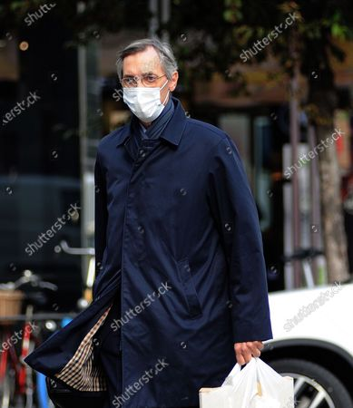 Editorial image of Niccolo Ghedini returns from work, Milan, Italy - 20 Oct 2020