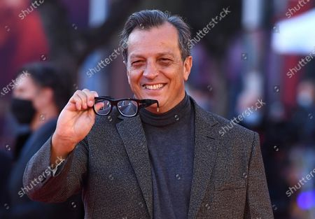 Gabriele Muccino arrives for the screening of 'Calabria, terra mia' at the 15th annual Rome International Film Festival, in Rome, Italy, 20 October 2020. The film festival runs from 15 to 25 October.