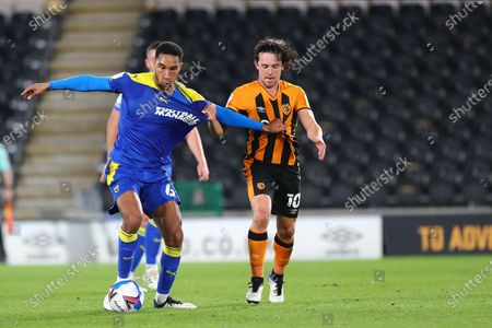 Editorial photo of Hull City v AFC Wimbledon, EFL Sky Bet League 1 - 20 Oct 2020