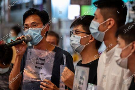 Editorial picture of Save Hong Kong 12 rally in Hong Kong, China - 20 Oct 2020