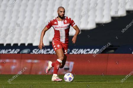 Sofyan Amrabat of ACF Fiorentina in action
