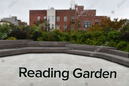 An exterior view of the Greenpoint Library and Environmental Education Center in Brooklyn, New York.