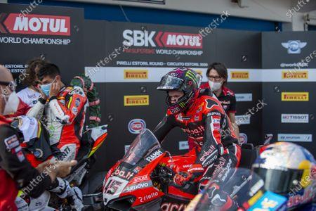 Scott Redding GBR Ducati Panigale V4R ARUBA.IT Racing - Ducati  2st Classified during Round 8 Pirelli Estoril Round Race2, World SuperBike