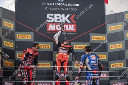 Editorial image of World SuperBike, SBK, Round 8 Pirelli Estoril Round Race2, Estoril, Portugal - 18 Oct 2020