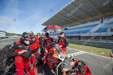 Editorial picture of World SuperBike, SBK, Round 8 Pirelli Estoril Round Race2, Estoril, Portugal - 18 Oct 2020
