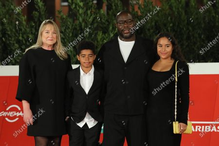 Steve McQueen, Bianca Stigter and children