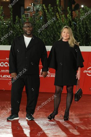 Stock Picture of Steve McQueen and Bianca Stigter