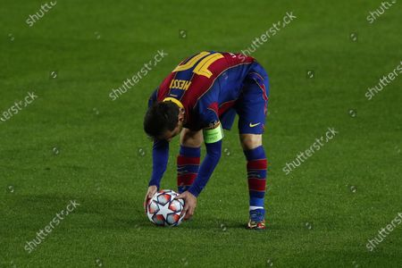 Editorial picture of Soccer Champions League, Barcelona, Spain - 20 Oct 2020