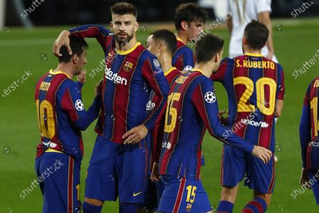 Editorial photo of Soccer Champions League, Barcelona, Spain - 20 Oct 2020