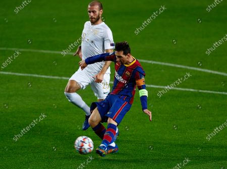 Editorial image of Soccer Champions League, Barcelona, Spain - 20 Oct 2020
