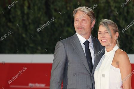 Mads Mikkelsen and Hanne Jacobsen