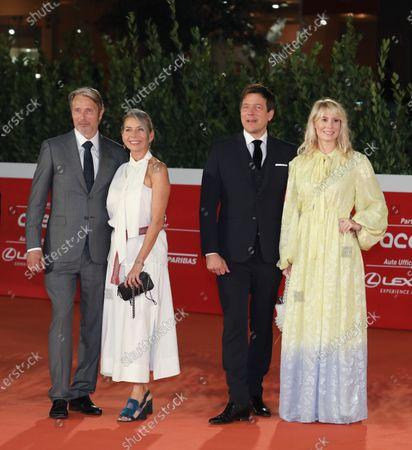 Mads Mikkelsen, Hanne Jacobsen, Thomas Vinterberg and Helene Reingaard Neumann