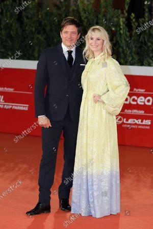 Thomas Vinterberg and Helene Reingaard Neumann