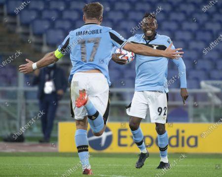Editorial photo of SS Lazio vs Borussia Dortmund, Rome, Italy - 20 Oct 2020