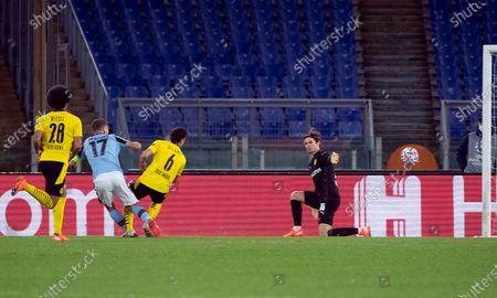Editorial image of SS Lazio vs Borussia Dortmund, Rome, Italy - 20 Oct 2020