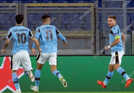 Editorial picture of SS Lazio vs Borussia Dortmund, Rome, Italy - 20 Oct 2020