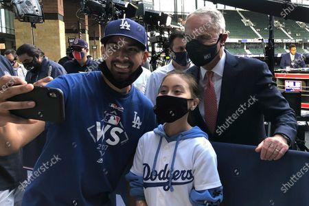 Editorial image of NLCS Braves Dodgers Baseball, Arlington, United States - 20 Oct 2020