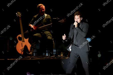 Editorial photo of David Bisbal in concert, Nits al Carme, Valencia, Spain - 13 Aug 2020