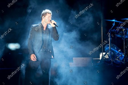 Editorial picture of David Bisbal in concert, Nits al Carme, Valencia, Spain - 13 Aug 2020
