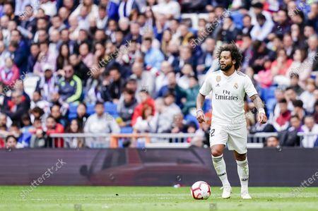 Editorial picture of Real Madrid vs Levante UD, La Liga 2018-19, Football, Estadio Santiago Bernabeu, Madrid, Spain - 20 Oct 2018