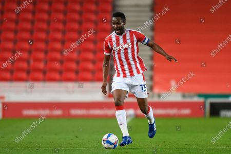 Stock Picture of John Obi Mikel (13) of Stoke City runs forward with the ball