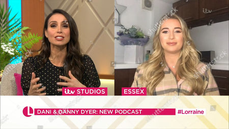 Stock Image of Christine Lampard and Dani Dyer