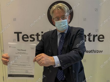 Yesterday Robert Hardman was the First Reporter to Take Heathrow's New Instant Covid Test. His Verdict? True, it is one more layer of airport hassle which we would all rather do without. However, it is quicker than check-in. It is no more uncomfortable than being frisked by a bored X-ray machine operator because you forgot you had an old 10p coin in your pocket. And you don't even have to take your shoes off. More importantly, it could be the breakthrough which finally gets this nation - and the world - back in the air again.