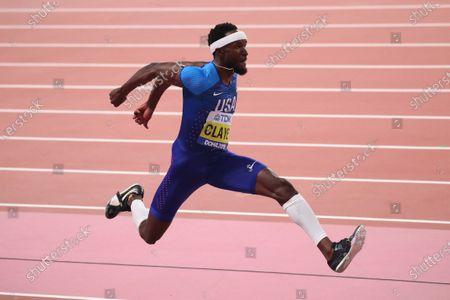 Will Claye (USA) - Athletics :  IAAF World Championships Doha 2019  Men's Triple Jump Final  at Khalifa International Stadium in Doha, Qatar.