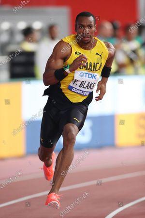 Yohan Blake (JAM) - Athletics :  IAAF World Championships Doha 2019  Men's 200m Heat  at Khalifa International Stadium in Doha, Qatar.