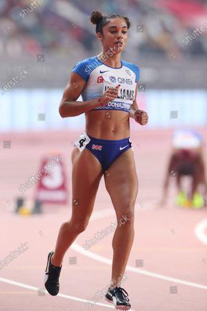 Jodie Williams (GBR) - Athletics :  IAAF World Championships Doha 2019  Women's 200m Semi-final  at Khalifa International Stadium in Doha, Qatar.