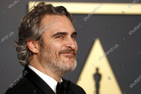 YEARENDER 2020  PERSONALITIES  Joaquin Phoenix poses in the press room with the Oscar for Best Actor for his performance in 'Joker' during the 92nd annual Academy Awards ceremony at the Dolby Theatre in Hollywood, California, USA, 09 February 2020. After winning a BAFTA, a Golden Globe and a SAG award for his performance, the Joker star also received an Academy Award, becoming the second person to win an Oscar for portraying the Batman villain, after Heath Ledger.