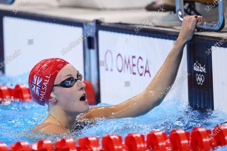 Francesca Halsall (GBR) - Swimming : Women's 50m Freestyle Semi-Final at Olympic Aquatics Stadium during the Rio 2016 Olympic Games in Rio de Janeiro, Brazil.