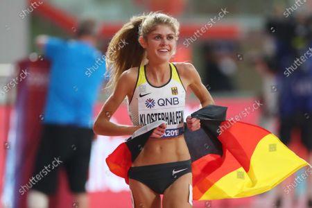 Konstanze Klosterhalfen (GER) - Athletics :  IAAF World Championships Doha 2019  Women's 5000m Final  at Khalifa International Stadium in Doha, Qatar.