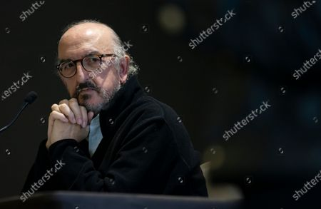 Editorial picture of Jaume Roures, CEO of Mediapro holds a press conference in Paris, France - 21 Oct 2020
