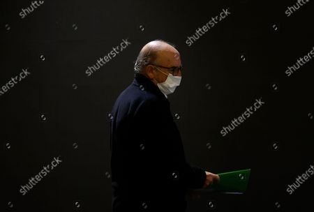 Editorial photo of Jaume Roures, CEO of Mediapro holds a press conference in Paris, France - 21 Oct 2020