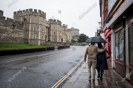 Editorial picture of Storm Barbara - Windsor, Windsor, Berkshire, UK - 21 Oct 2020