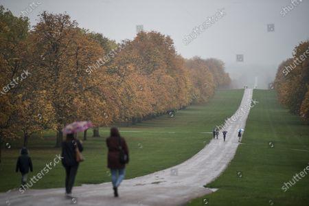 Editorial photo of Storm Barbara - Windsor, Windsor, Berkshire, UK - 21 Oct 2020