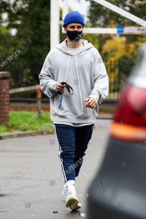 Gorka Marquez leaving the dance studio