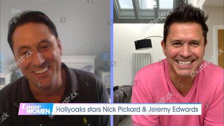 Stock Image of Nick Pickard and Jeremy Edwards