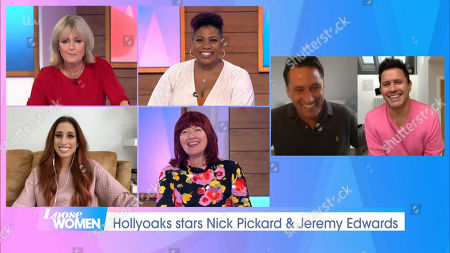 Jane Moore, Brenda Edwards, Stacey Solomon, Janet Street-Porter, Nick Pickard and Jeremy Edwards