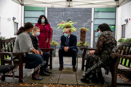 Editorial photo of The Duke of Cambridge attends a groundbreaking ceremony at The Royal Marsden, Surrey, UK - 21 Oct 2020